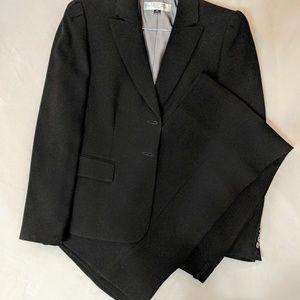 Tahari Black Pantsuit, 8 Petite